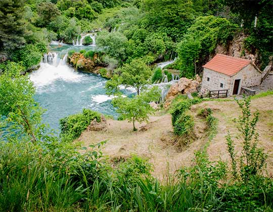 Private day trip to Krka National Park
